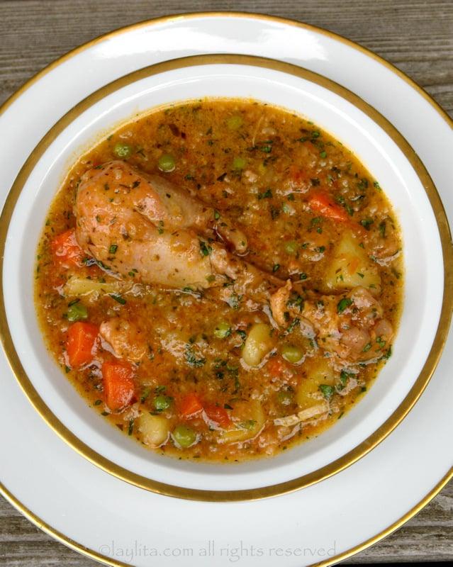 Aguado chicken rice soup