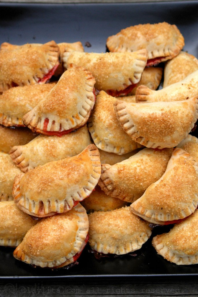 Recipe for strawberry empanadas