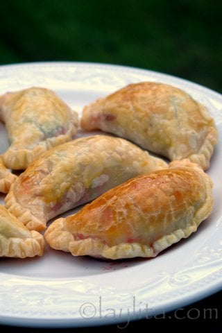 Recipe for vegetarian empanadas