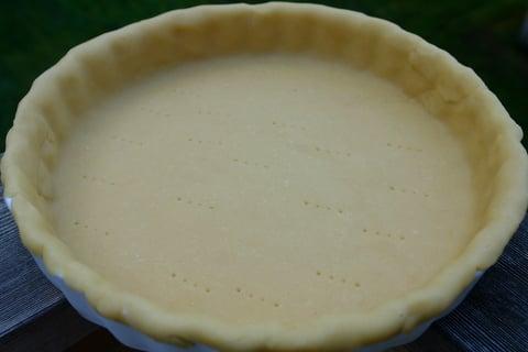 Savory tart shell
