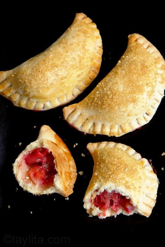 Recette des empanadas aux fraises