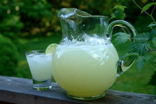 Limonada refrescante receita