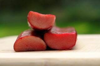 La rhubarbe pour la recette