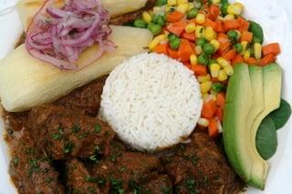 Lamb stew or seco de borrego