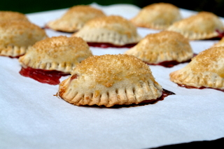 Empanadas stuffed with fruit