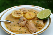 Biche or viche fish soup