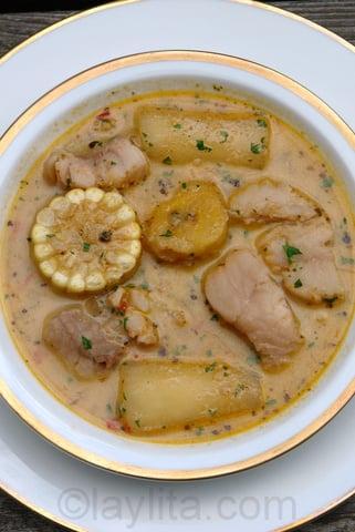 Ecuadorian biche soup