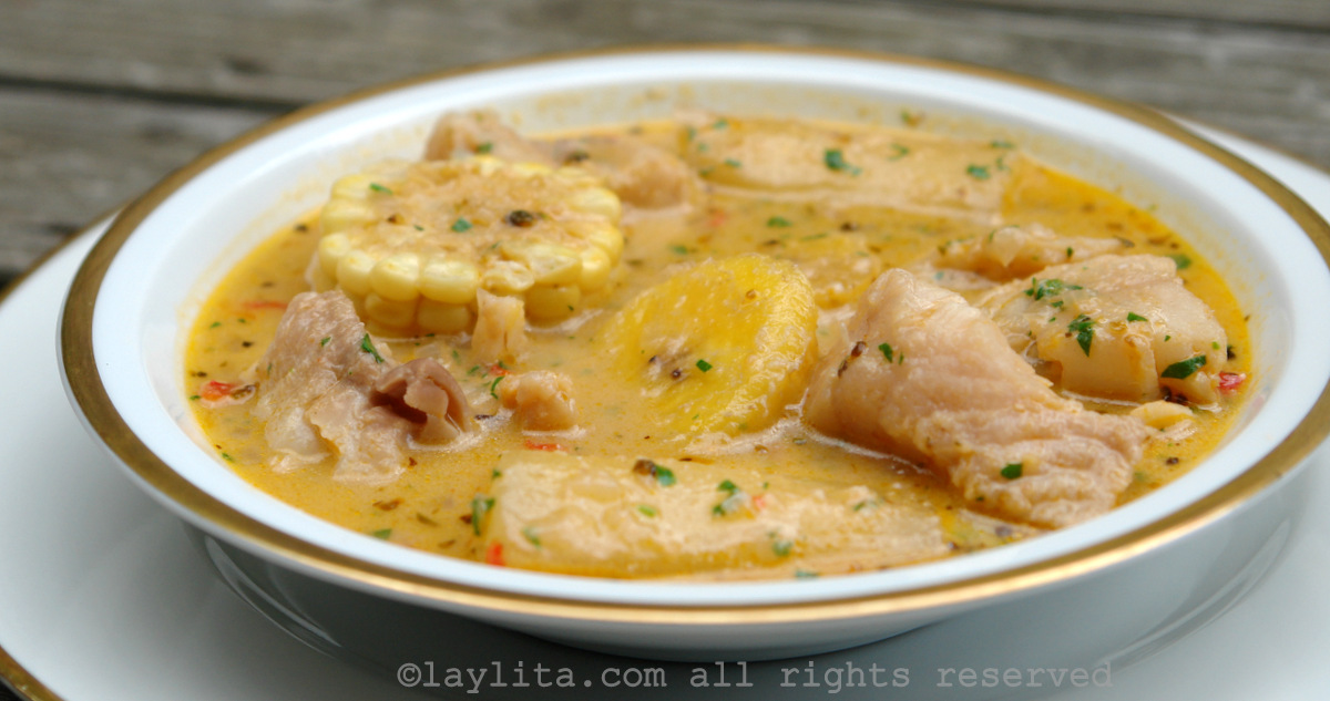 Ecuadorian fish soup biche or viche de pescado laylitas recipes forumfinder Images