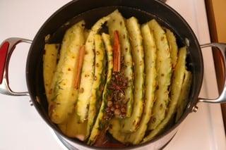 Préparation de la chicha à l'ananas - étape 3