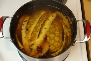 Préparation de la chicha à l'ananas - étape 4