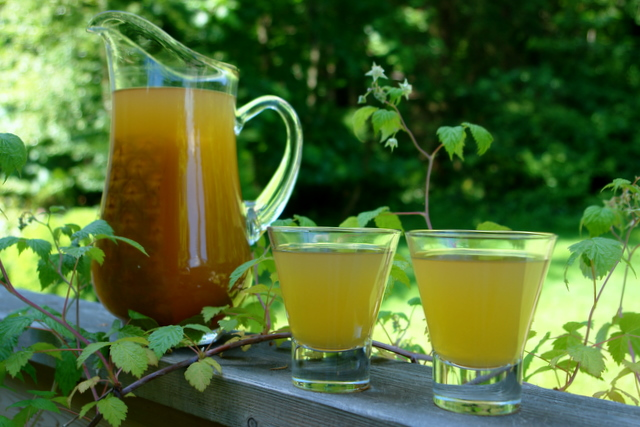 Chicha de Pina (South American Spiced Pineapple Drink) from Laylita's Recipes