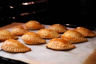 Baking empanadas mendocinas