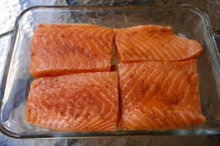 Grilled Salmon Paprika Recipe — Dishmaps