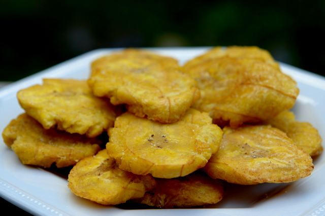 Patacones or tostones
