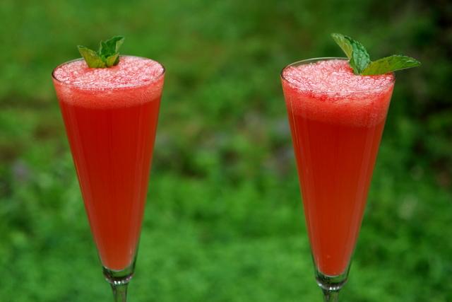 Comment préparer la recette du mimosa à la pastèque