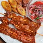 Ecuadorian beef skewers