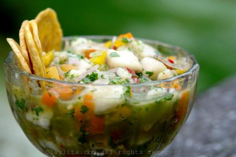 Ecuadorian ceviche de pescado recipe