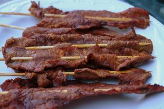 Chuzos or carne en palito