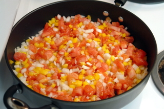 Preparation of encocado de pescado