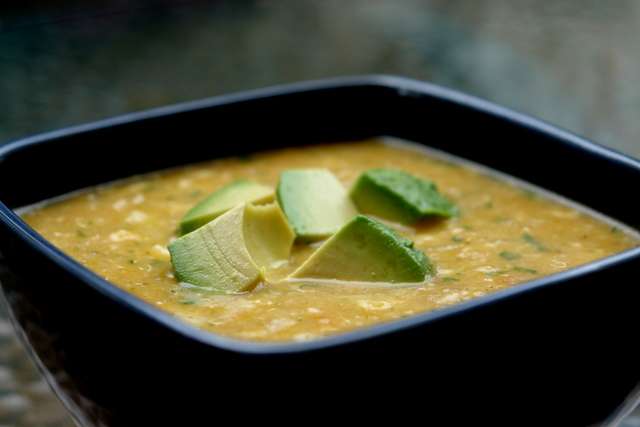 Quinoa and cheese soup {Locro o sopa de quinua con queso}