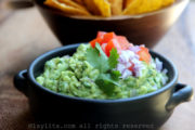 Simple and easy homemade guacamole