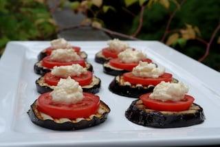 Eggplant appetizer