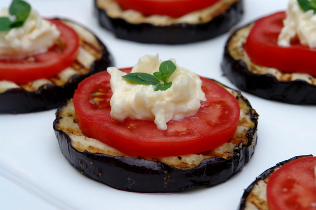 Anna's eggplant appetizer
