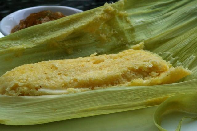 Humitas Steamed Fresh Corn Cakes