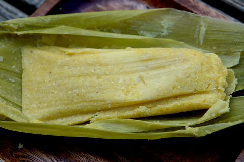 Humitas are savory cakes made from a mixture of freshly ground corn ...