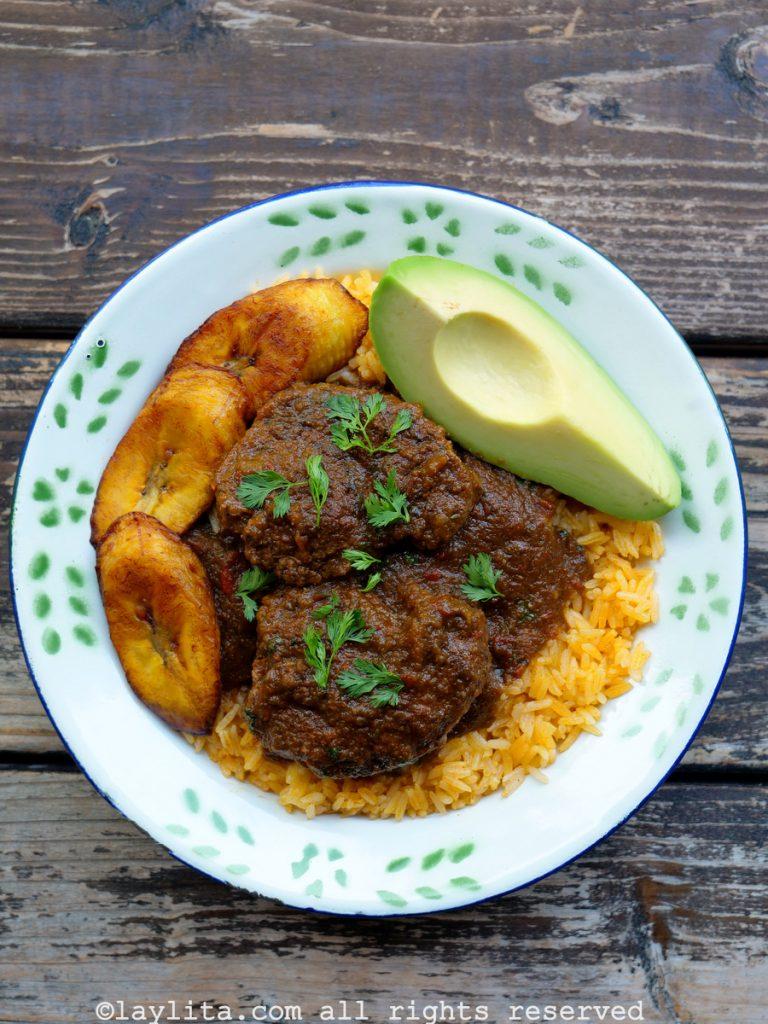Seco de carne beef stew recipe