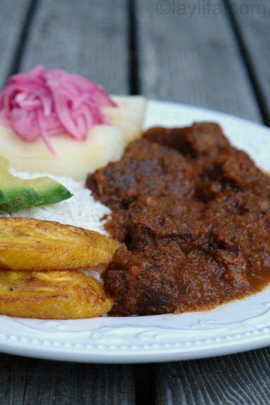 Ecuadorian beef stew / Seco de carne