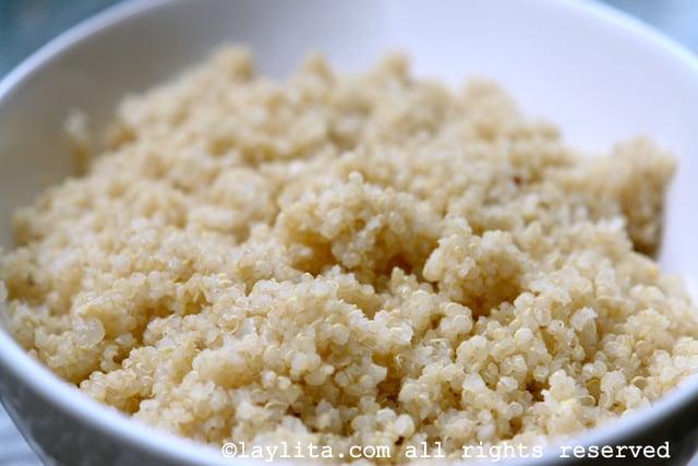 Basic cooked quinoa