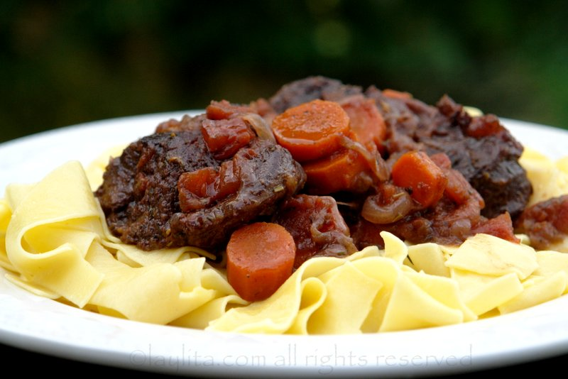 Beef daube or French beef stew recipe