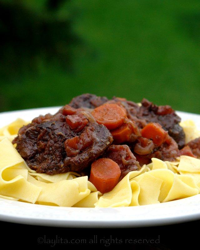 Provencal beef daube recipe