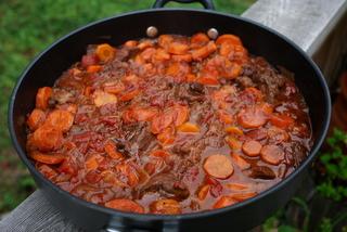 Beef daube preparation