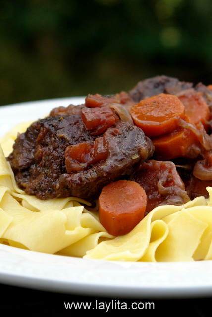 Beef daube or French beef stew