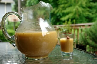 Colada de avena or oatmeal drink recipe