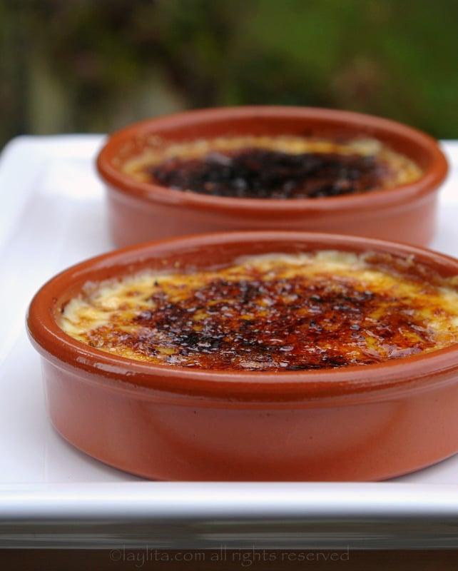 Crema catalana dessert