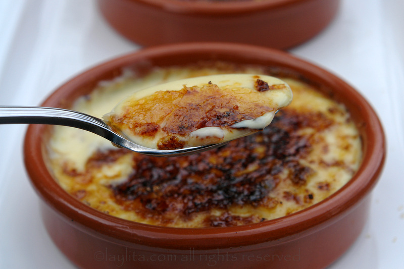 Crema catalana / Spanish burnt cream custard