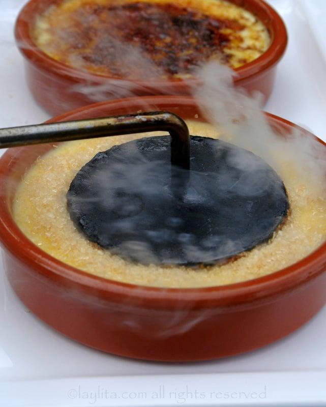 Spanish crema catalana