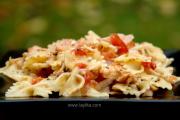 Tuna and tomato pastas