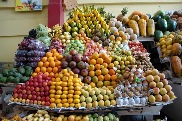 Fruits at the Santa Clara market