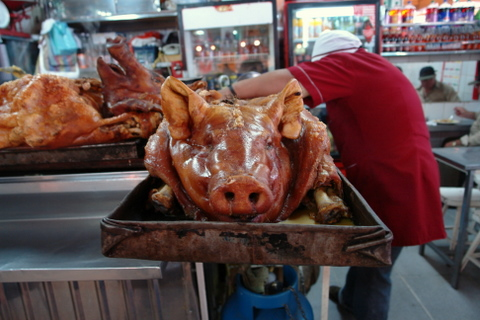 Hornado or roasted pork