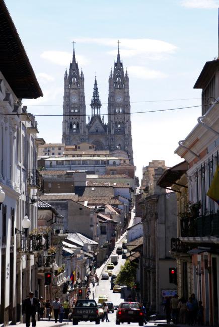 La Basilica en Quito