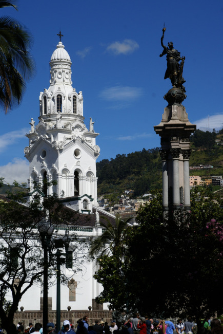 Plaza Grande y la Catedral in Quito