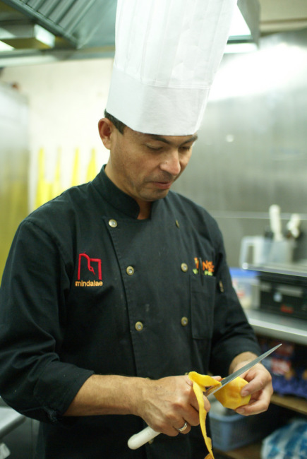 The chef at Tianguez