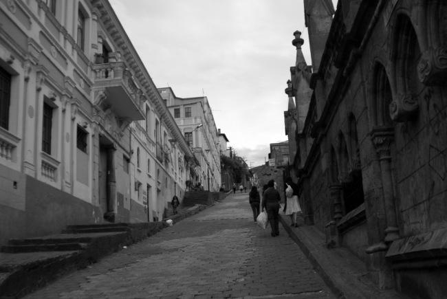 The walk up to El Ventanal