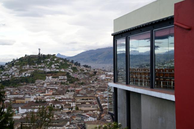 El Panecillo from Ventanal