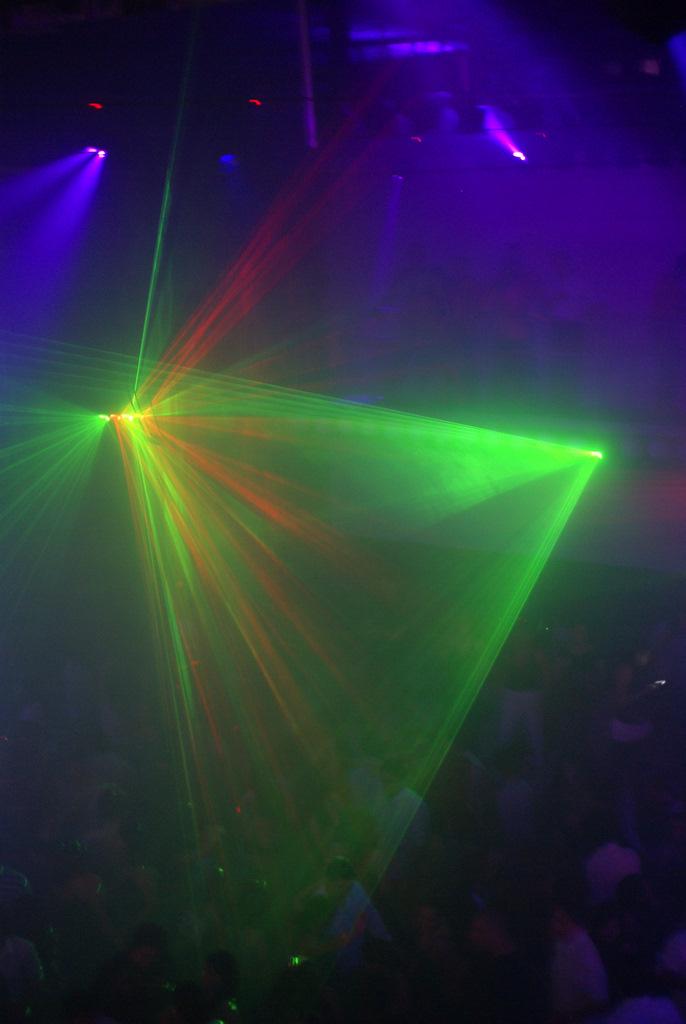 Punto G dance club in Quito