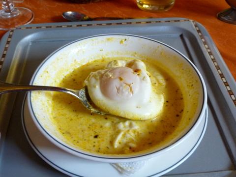 Ecuadorian Egg soup